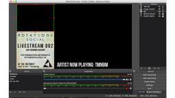 screenshot of a sound mixer