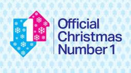 arrows with snowflakes on them with text Official Christmas Number 1