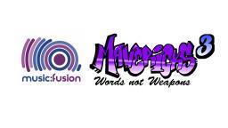 Music fusion x mavericks logo