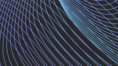blue swirls on dark background