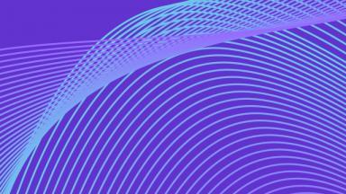 blue swirls on purple background
