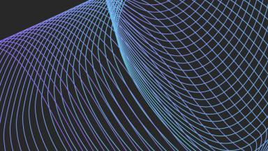 blue swirls on black background
